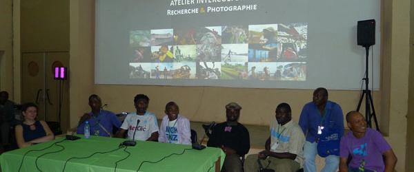 Génération Elili et le réseau des photographes d'Afrique centrale à Bamako