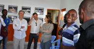 Visite de José Ramon Bas et de la Fondation Almayuda