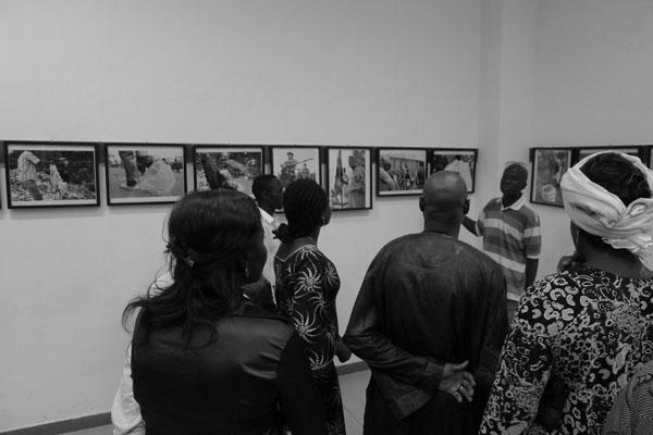 Euloge SAMBA présente ses photos