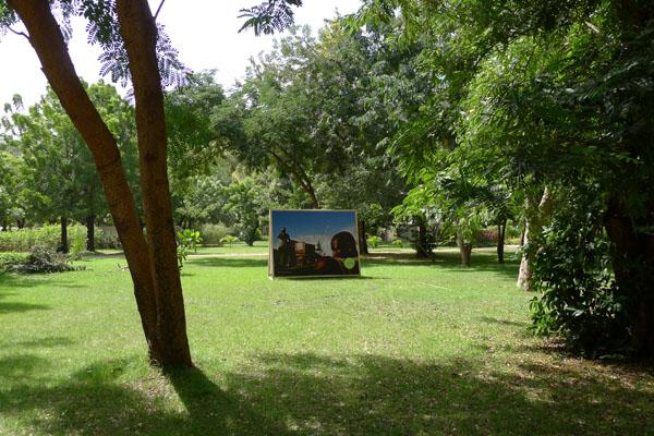 Photo de Francis Kodia dans le Parc National de Bamako