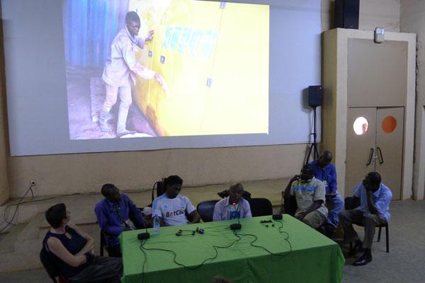 Photographes d'Afrique centrale et maliens