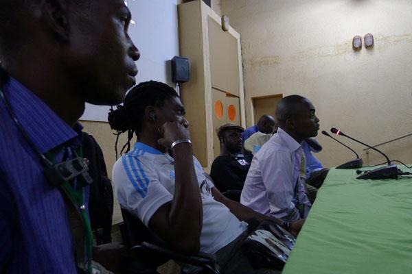 Francis Kodia, Rodrig Mbock et Baudouin Mouanda