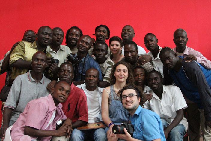 Les participants venus de toute l'Afrique centrale